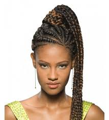 Braided Hairstyles With Weave 51 Best Ghana Braids Images On Pinterest Braided Bun Hairstyles