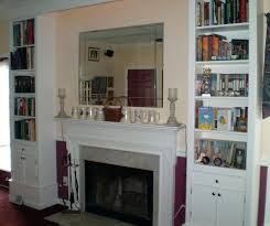 Fireplace Mantels With Bookcases Bookcase Gas Fireplace Surrounds With Bookcases Fireplace Mantel