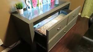 how to build a table with drawers new diy tortoise table youtube
