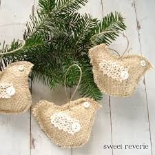 87 best burlap lace ornaments images on