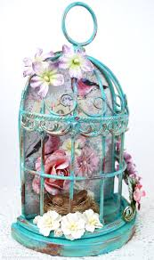 Home Decor Bird Cages Scraps Of Darkness And Scraps Of Elegance Video Tutorial Diy
