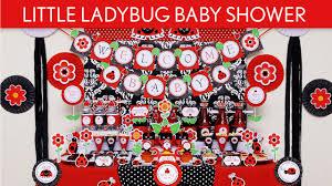 little ladybug baby shower party ideas little ladybug s43