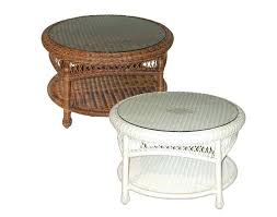 round rattan side table wicker side table lifecoachcertification co