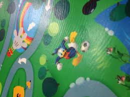tappeti per bambini disney tappeto disney pvc gommoso 130 x 200 topolino cameretta bambini
