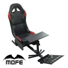 Racing Simulator Chair Foldable Evolution Cockpit Racing Simulator Seat With Support