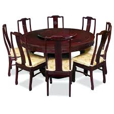 round dining room table seats 8 10 large seater oak glass set