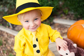 Curious George Halloween Costumes Man Yellow Hat Emily Mccall