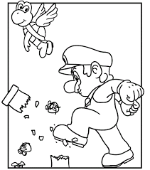 demolition mario coloring pages mario bros games mario bros