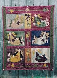 Memes Quilts - angel quilt patterns memes quilts primitive doll quilt and stitchery