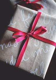 beautiful christmas wrapping paper handwriting on brown paper makes for beautiful wrapping paper