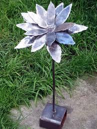 17 marvelous garden decoration creations metal flowers metals