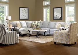 Classic Sectional Sofa Classic Reclining Sectional Sofa With Rolled Arms By Klaussner