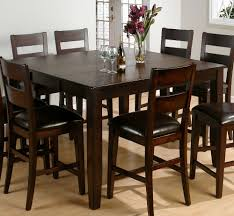 Rustic Dining Room Furniture Sets by Kitchen Jofran Dark Rustic Prairie Rectangular Counter Height