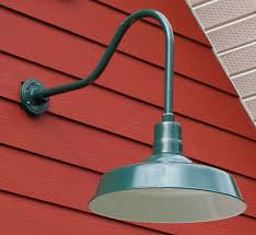 gooseneck barn light fixtures lighting design ideas copper gooseneck barn lights in arm outdoor