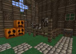 medieval barn minecraft project medieval barn interior left side
