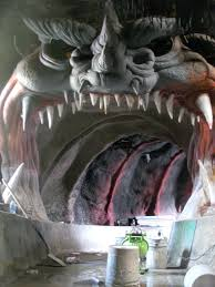 Six Flags Rides Ga Behind The Scenes At The Opening Of Monster Mansion At Six Flags