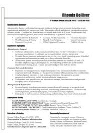Sample Resume Format For Accounting Assistant by Accounting Functional Resume Virtren Com
