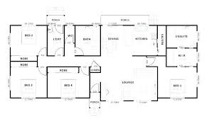simple four bedroom house plans house layouts 4 bedroom magnificent 4 bed room house plans 4 bedroom