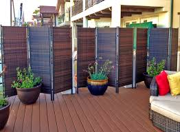 bathroom engaging deck privacy screen outdoor fence panels ideas