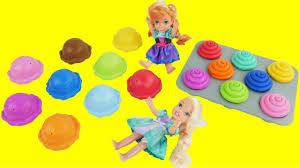 play doh ice cream cupcakes surprise toys disney princess toddlers