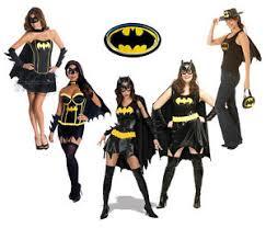 Batgirl Halloween Costume Batman Superhero Batgirl Ladies Fancy Dress Hen Party