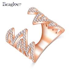 aliexpress buy beagloer new arrival ring gold aliexpress buy beagloer 2017 new mountain design open finger