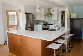 ceramic tile countertops mid century kitchen cabinets lighting