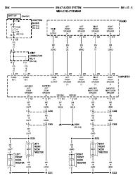 2000 dodge durango infinity radio wiring diagram infinity