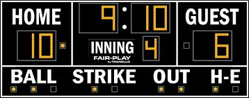 mp 8109 2 fair play scoreboards