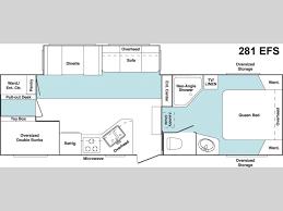 2006 keystone cougar floor plans used 2006 keystone rv cougar 281efs fifth wheel at mayflower rv