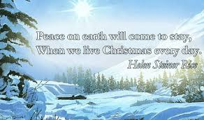peace on earth quote picture