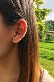 conch piercing cuff set of two ear cuff ear cuff helix conch piercing