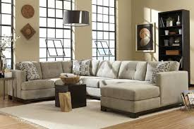 L Tables For Living Room Astonishing Grey Living Room Furniture Using L Shaped Sectional