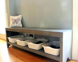 Foyer Shoe Bench