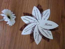 idee original pour mariage des idées de menus de table originaux pour un mariage couteaux