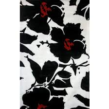 Hibiscus Rug Traditional Area Rugs Rosenberry Rooms