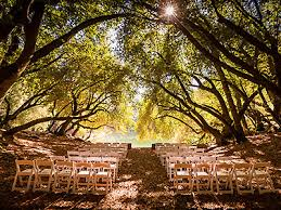 wedding venues in northern california leonard lake reserve redwood valley weddings rustic california