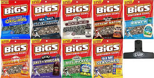 bigs bacon sunflower seeds bigs sunflower seed variety bag clip 5 3oz bags 9 pack bigs