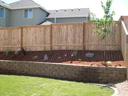 fences decks and retaining walls champion property improvement