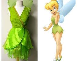 Tinkerbell Peter Pan Halloween Costumes Tinkerbell Costume Etsy