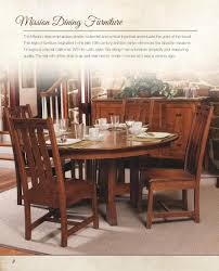 Mission Style Dining Room Furniture Home Design Inspirations - Mission dining room table