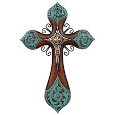 excellent rustic wall crosses decor iron cross wall decor large