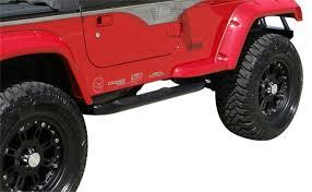 modified jeep wrangler yj amazon com rampage jeep 8625 black side bar automotive