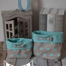 chambre bébé gris et turquoise dispo 2 pochons de rangement réversibles turquoise gris étoiles