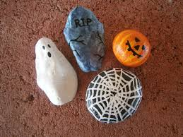 halloween painted rocks for sale at http www etsy com shop