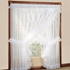 Priscilla Curtains With Attached Valance Sheer Priscilla Panel Pair With Attached Valance Ellis Curtain