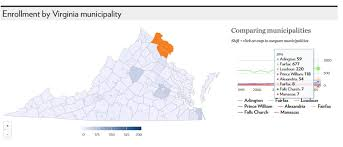 virginia county map with cities uva admission quotas for northern virginia office of
