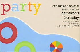 pool party invitations ideas pool party invitations designs