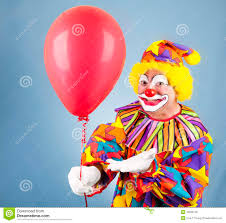 clown balloon l clown with balloon for you royalty free stock photos image 13689758