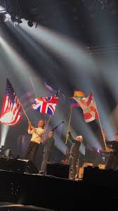 Floridas State Flag Paul Mccartney And His Band With The Us Flag Uk Flag Lgbtq